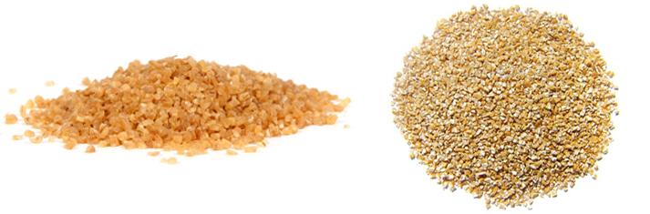 Булгур и пшеничная крупа