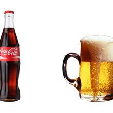 Что вреднее для здоровья Кока-кола или пиво