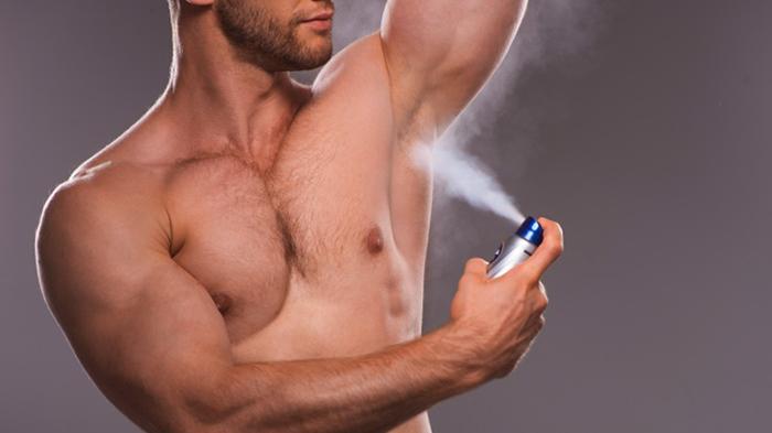 Использование дезодоранта