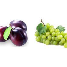 Что более полезно слива или виноград
