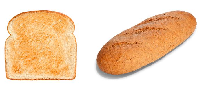 Тост и хлеб