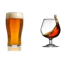 Что вреднее для здоровья пиво или коньяк