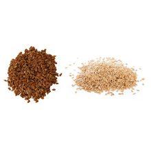 Какие семена льна полезнее коричневые или белые