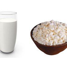 Что полезней молоко или творог