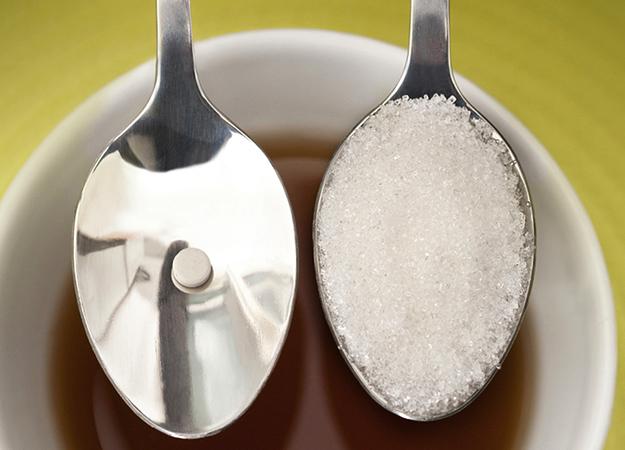 Сахарозаменитель и сахар