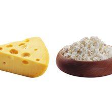 Что полезнее употреблять сыр или творог