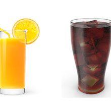Что вреднее для организма сок или газировка