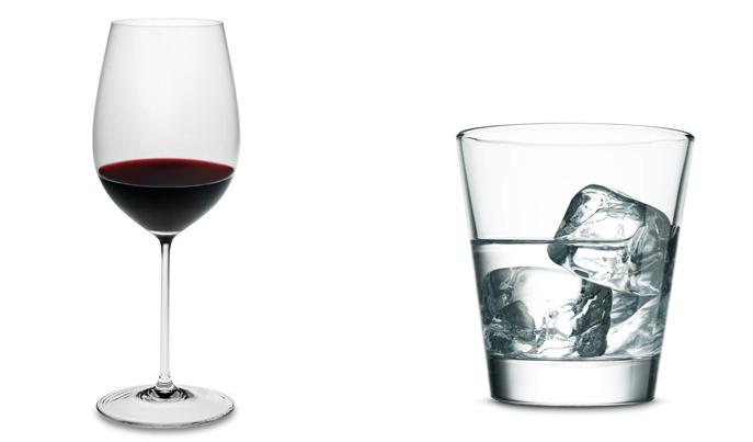 Вино и водка