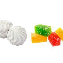 Что более полезно зефир или мармелад?