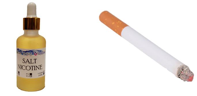 Солевой никотин и сигареты
