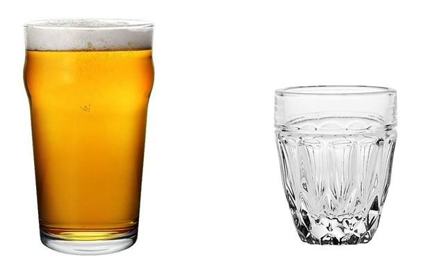 Пиво и водка