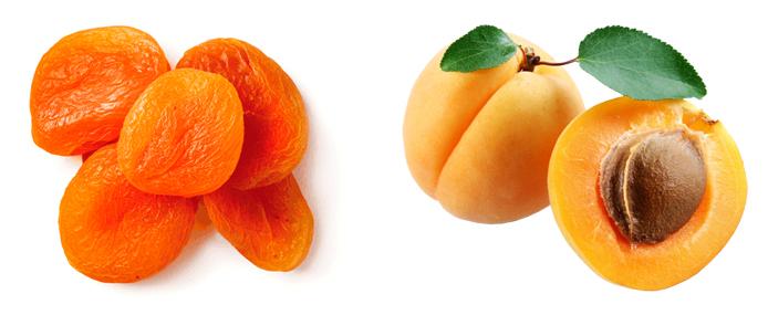 Курага и абрикос