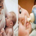 Что полезнее для ребенка грудное молоко или смесь