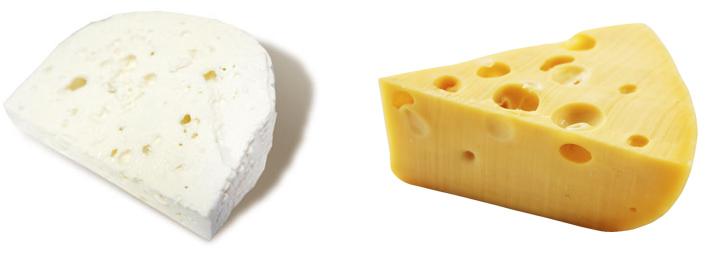Брынза и сыр