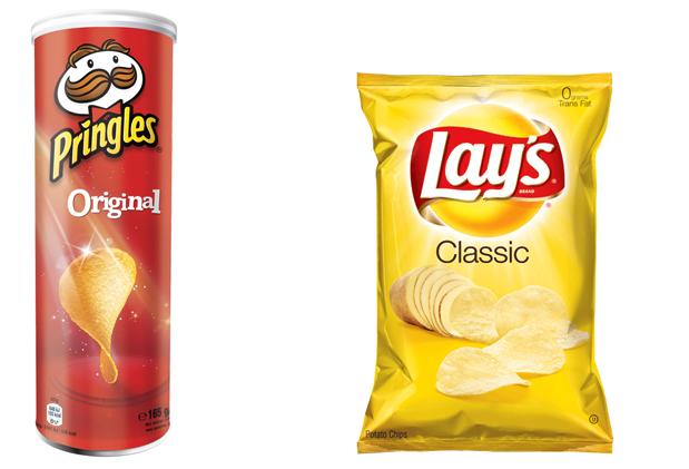 Pringles и Lays