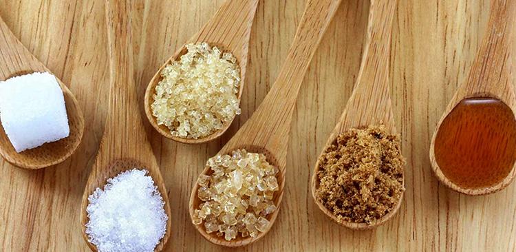 Разные виды сахара