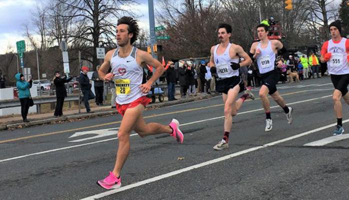 Бег марафона