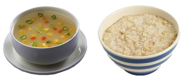 Суп и каша