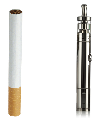 Сигарета и электронная сигарета