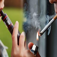 Что вреднее вейп или сигареты?