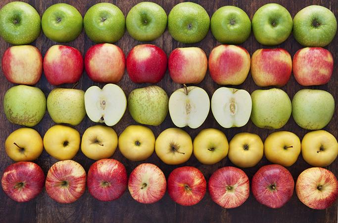 Разные яблоки