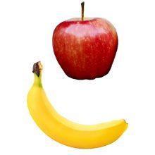 Что полезнее для здоровья яблоко или банан