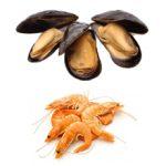 Что полезнее кушать мидии или креветки