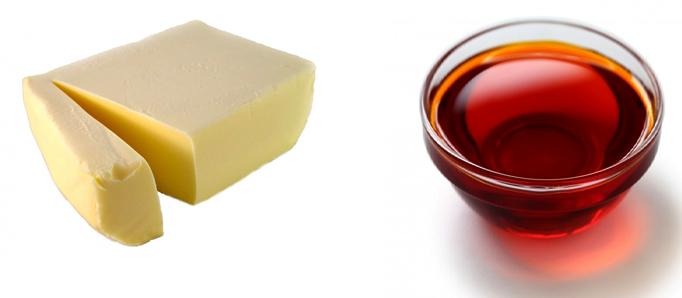 Маргарин и пальмовое масло
