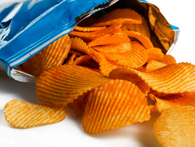 Свежие чипсы
