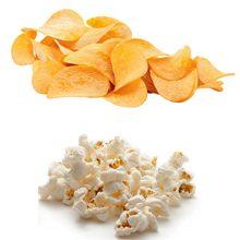 Что более вредно чипсы или попкорн