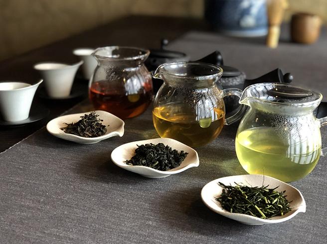 Несколько видов чая