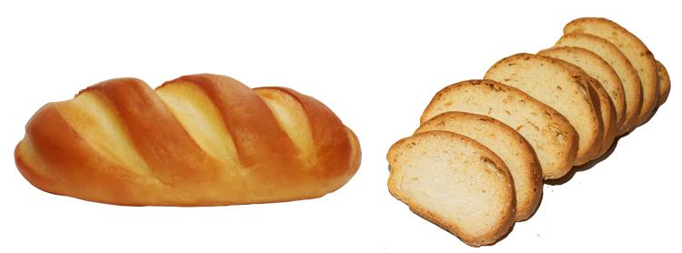 Хлеб и сухари